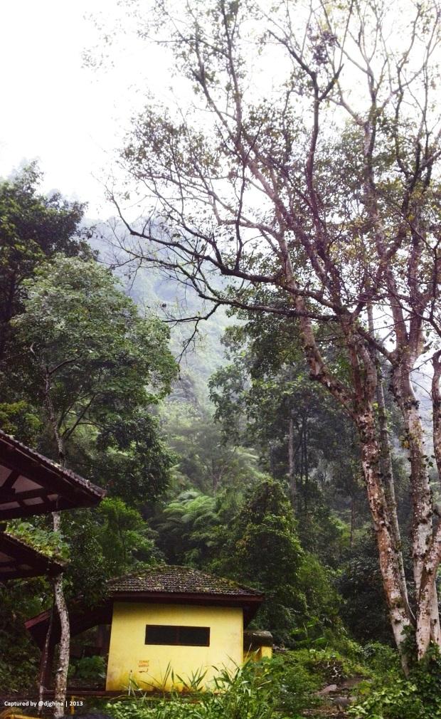 Facility around Madakaripura Waterfall