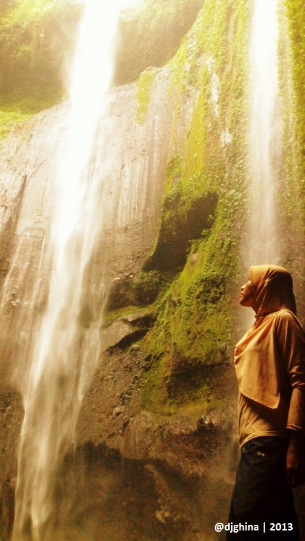Me and Madakaripura Waterfall