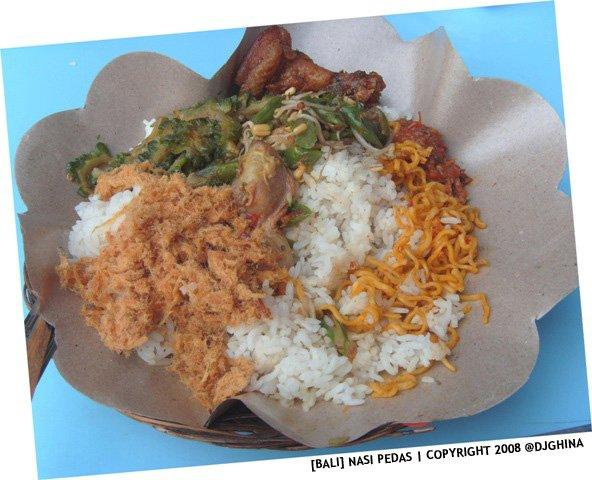 Wisata kuliner di depan Joger, nasi pedas